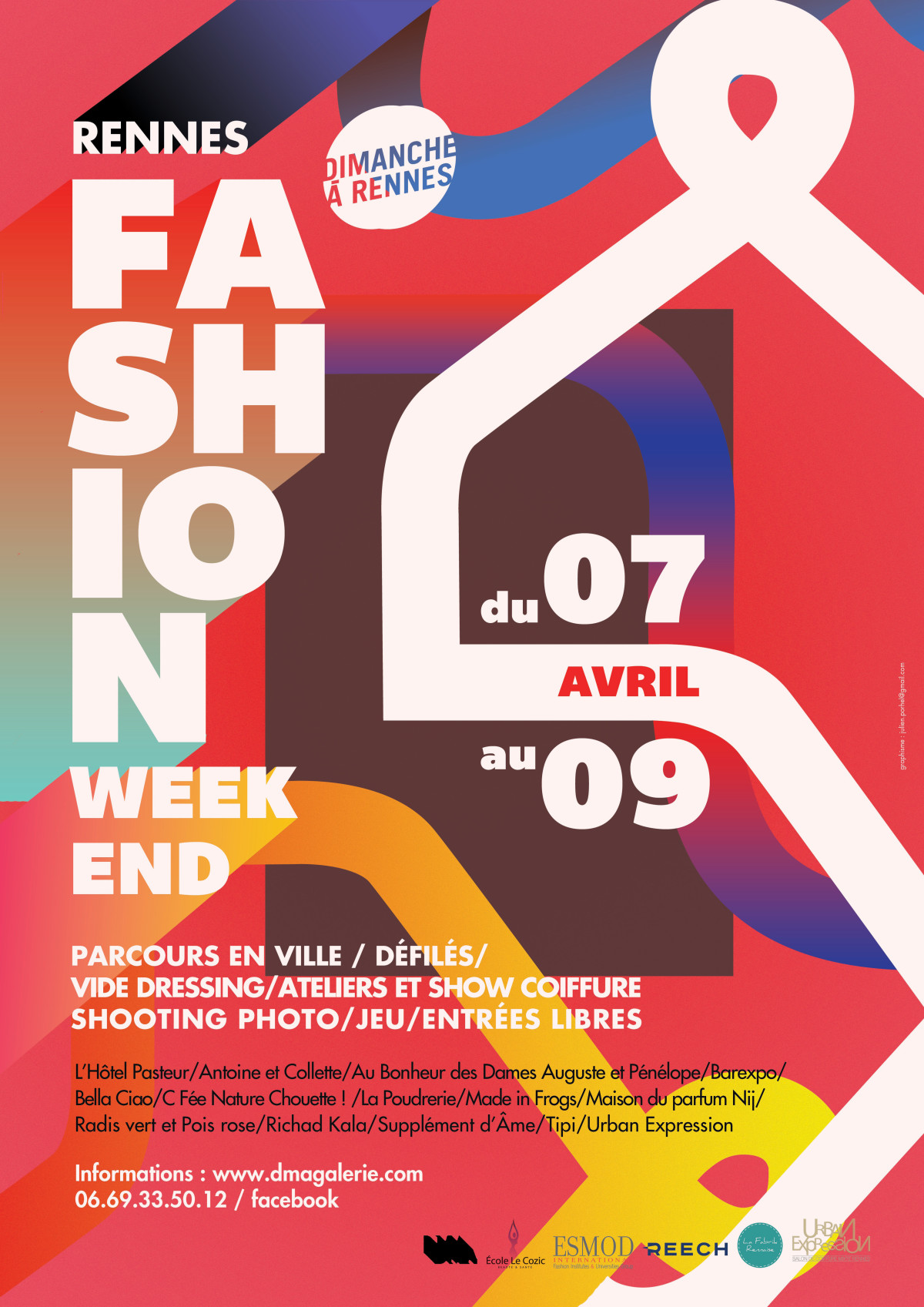 FASHION WEEK-END 7-9 avril 2017