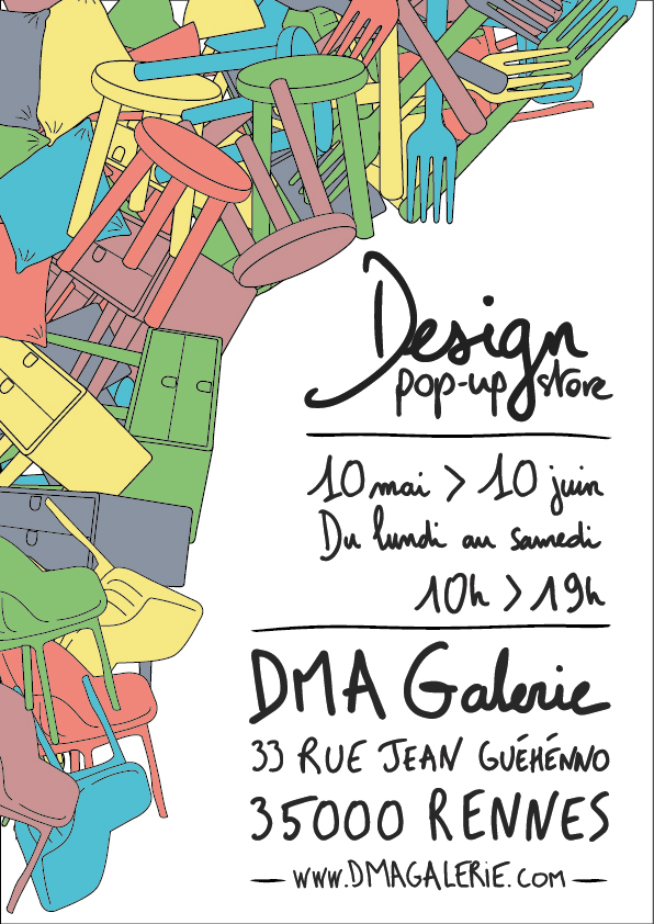 Design pop-up store 10/05 > 10/06