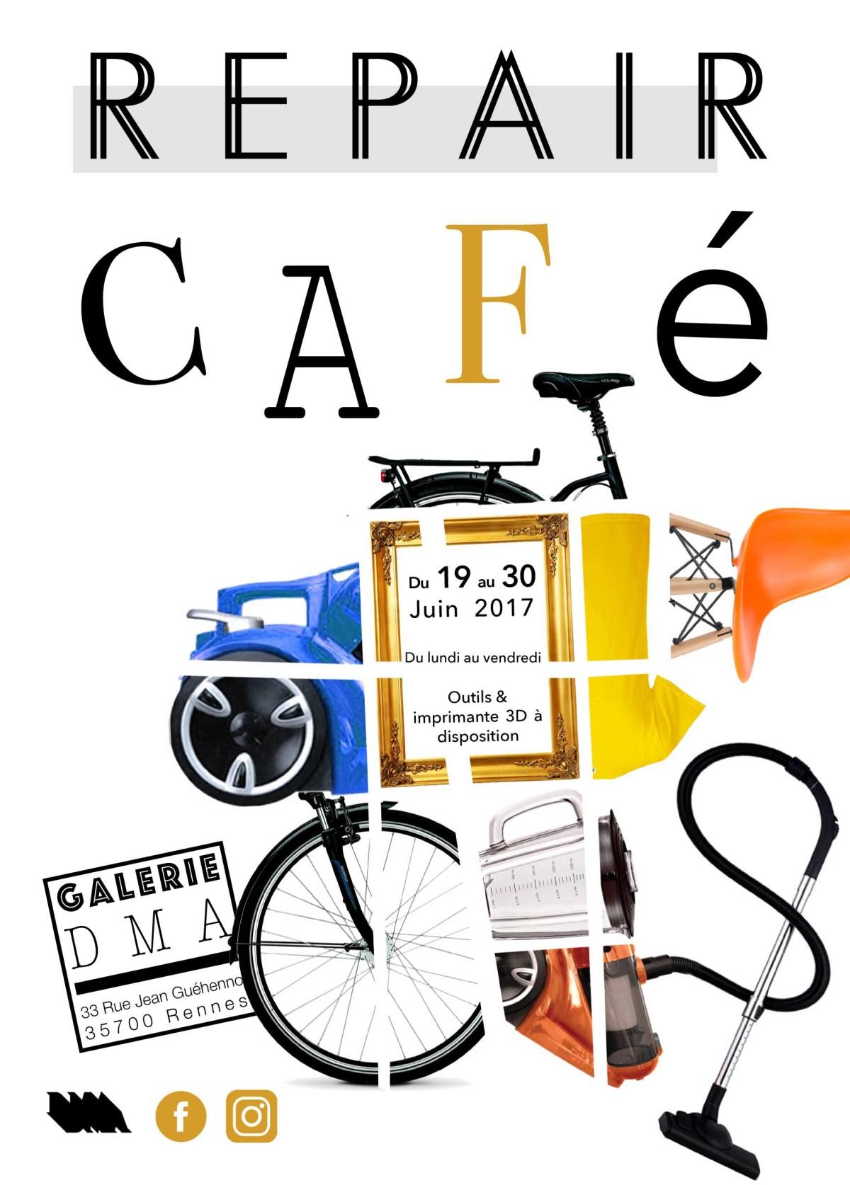 DMA Repair Café 19 – 30 juin 2017