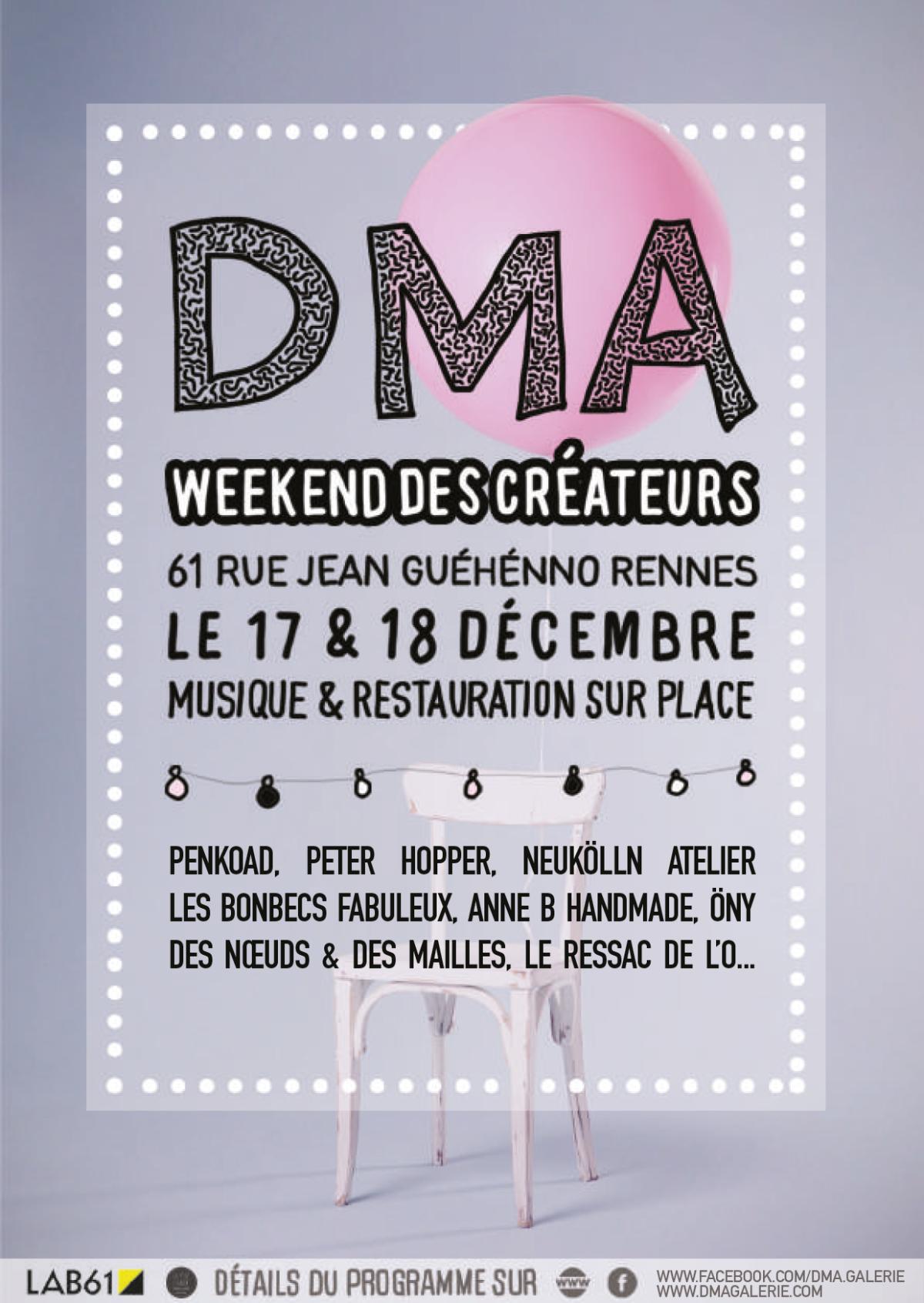 Week-End Des Créateurs – 17 & 18 Décembre